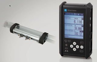 Fuji Electric Portable Ultrasonic Flowmeter Model FSC