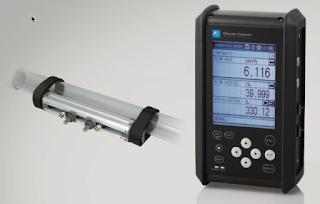 Fuji Electric Portable Ultrasonic Flowmeter Model FSC