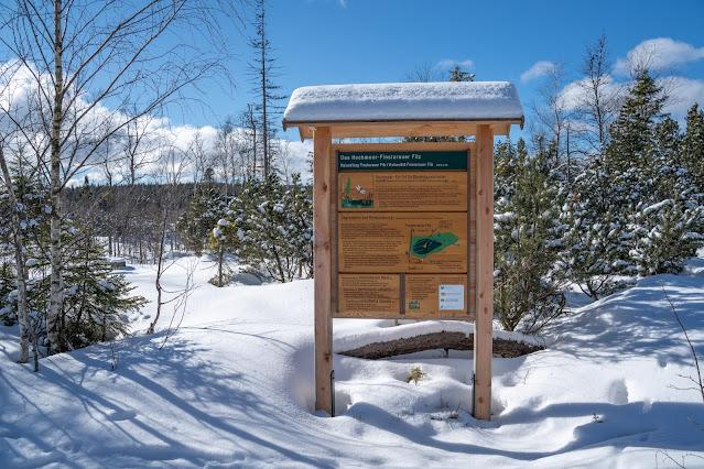 Winterwandern Mauth-Finsterau  Reschbachklause – Siebensteinkopf  Nationalpark Bayerischer Wald 26