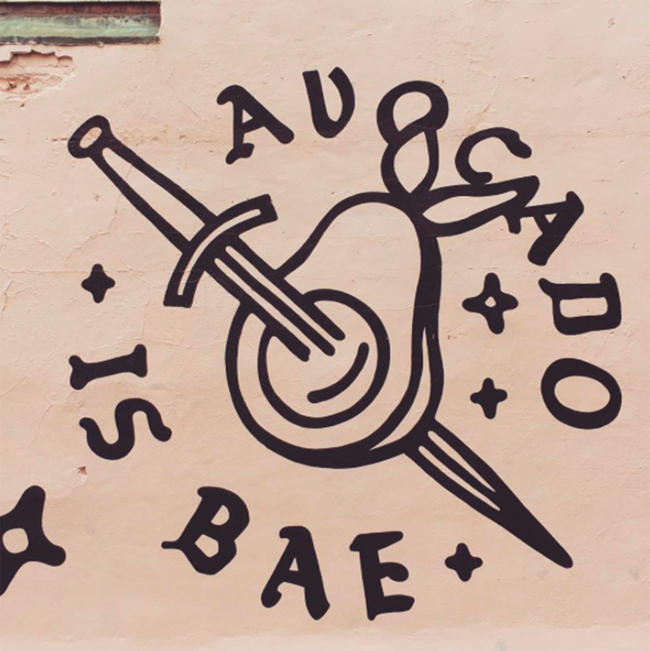 Liverpool blogger instagram, avocado is bae, liverpool street art, love thy neighbour bold street