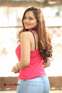 Tollywood Actress Ashwini Latest Stills in Ripped Jeans  0002.JPG