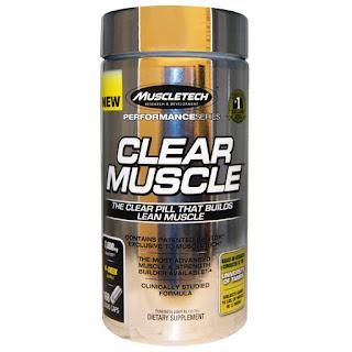 مكمل غذائي كلير مصل   Muscletech, Clear Muscle, 168 Liquid Caps