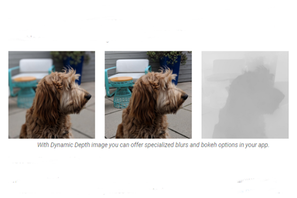 Dynamic depth format for photos
