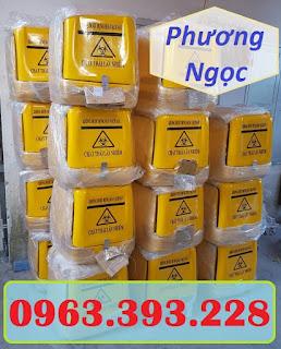 Thùng chở rác thải y tế sau xe máy, thùng vận chuyển rác thải lây nhiễm 8f3e07b1866960373978