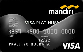 Gambar Kartu Kredit Mandiri Visa Platinum