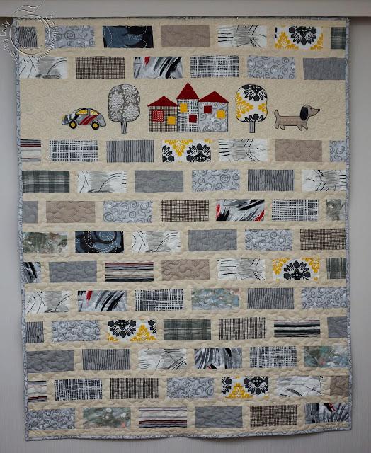 lapitekkide müük, grey tones parghwork quilt