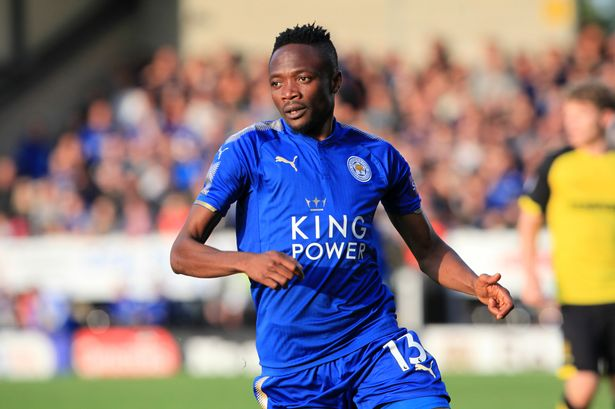 Everton Monitoring Ahmed Musa's situation at Leicester City