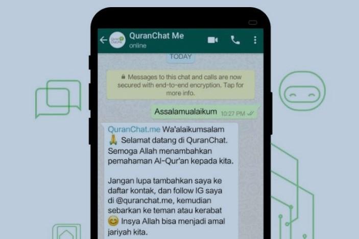 Bot Quran WhatsApp, Cari Ayat Dan Tafsir Al Quran Dengan Mudah