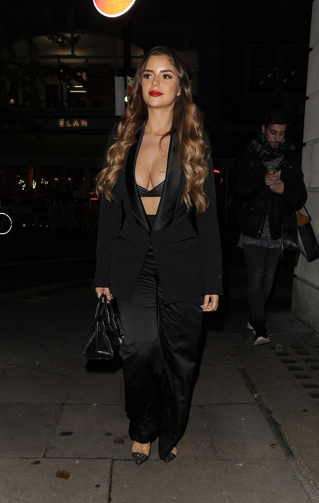 Demi Rose at Elan Cafe in London 11/16/2018