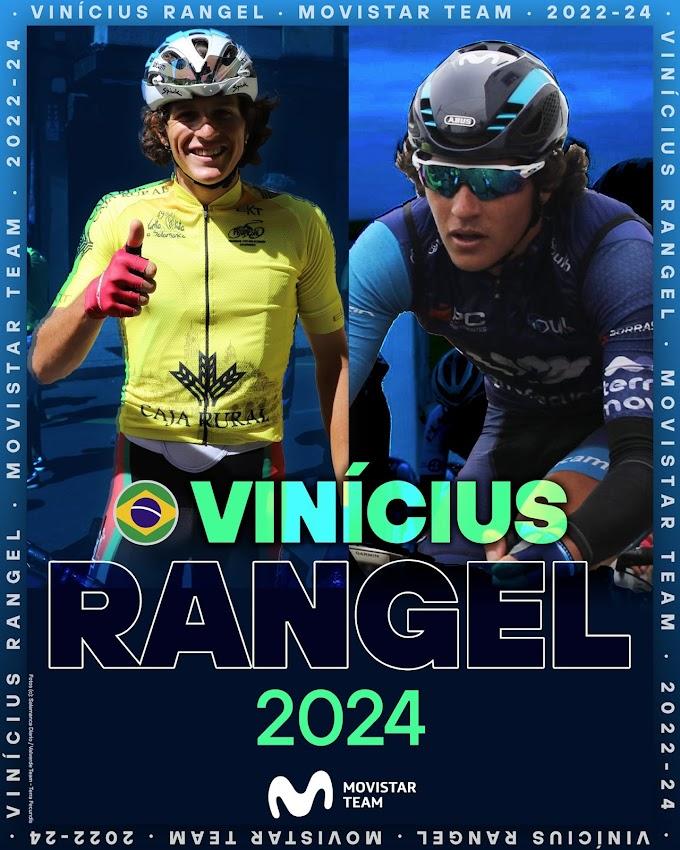 Vinicius Rangel será profesional con el Movistar Team