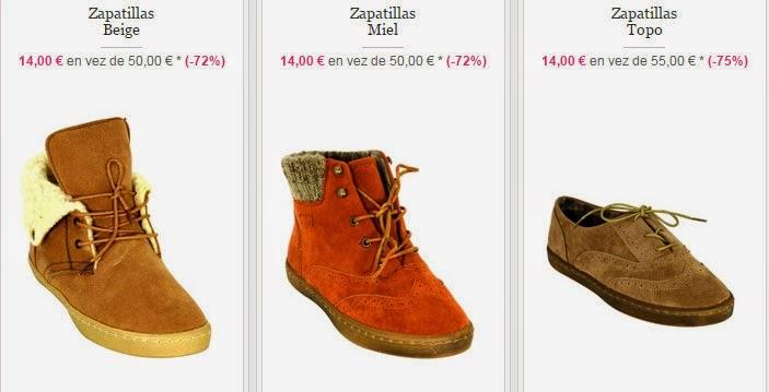 Zapatillas para mujer de caña alta o baja disponibles en esta oferta