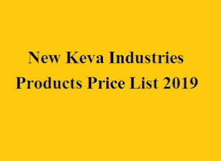 New Keva Industries Products Price List