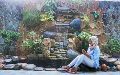 Relief Tebing Air Terjun - Tukang Rumput Bogor