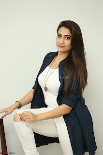 Manjusha in White Tight T Shirt and Black Jacket ~  Exclusive Celebrities Galleries 010