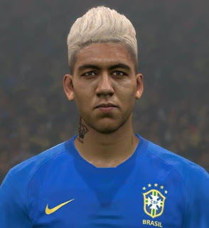 PES 2017 Faces Roberto Firmino by Ben Hussam FaceMaker