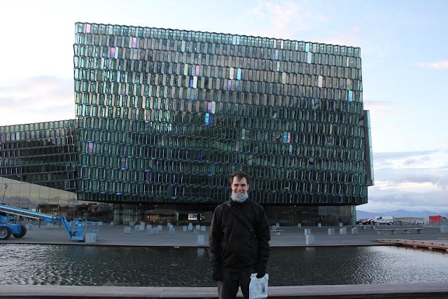 Centro de conciertos y conferencias Harpa de Reikiavik
