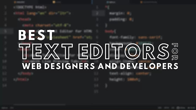 Top 3 Best Code Editors for Web Designers and Developers