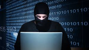 Image of a computer hacker