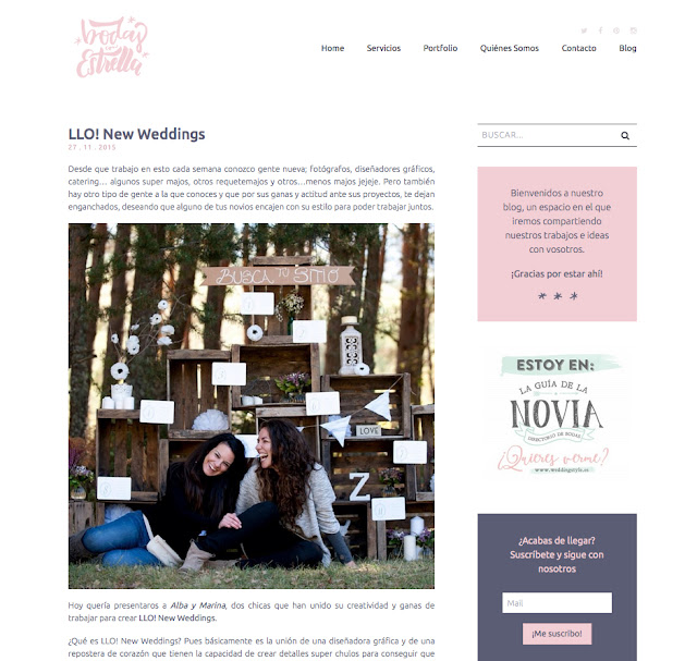 lanzamiento LLO! New Weddings