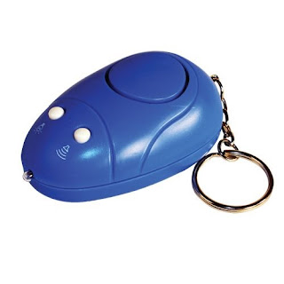 KEY-CHAIN ALARM WITH LIGHT
