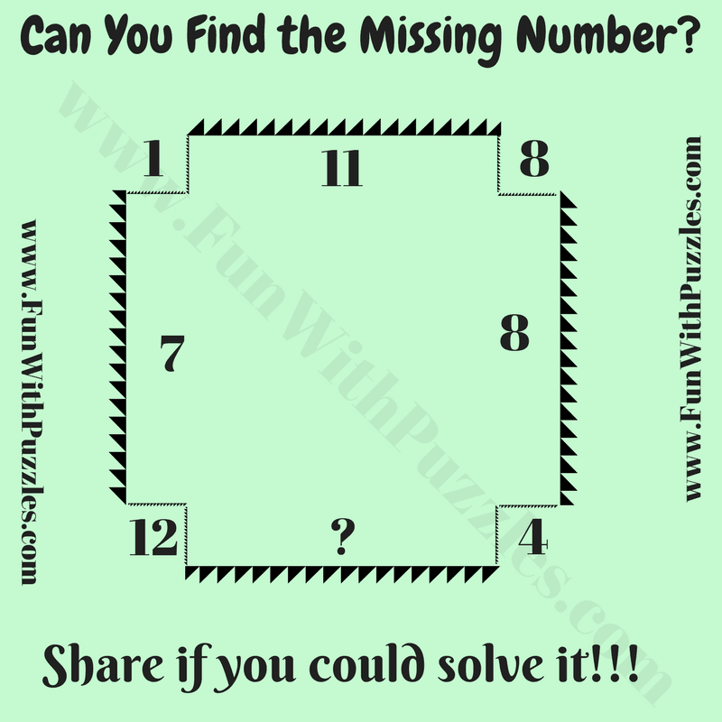 Maths Fun Brain Teaser for Teens with Answer-Fun With Puzzles