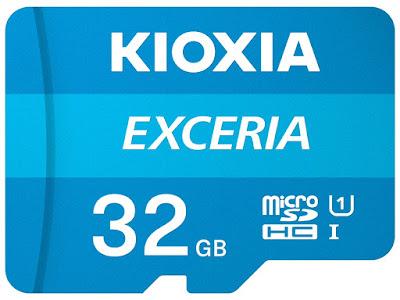 Kioxia Exceria MicroSD 32 GB