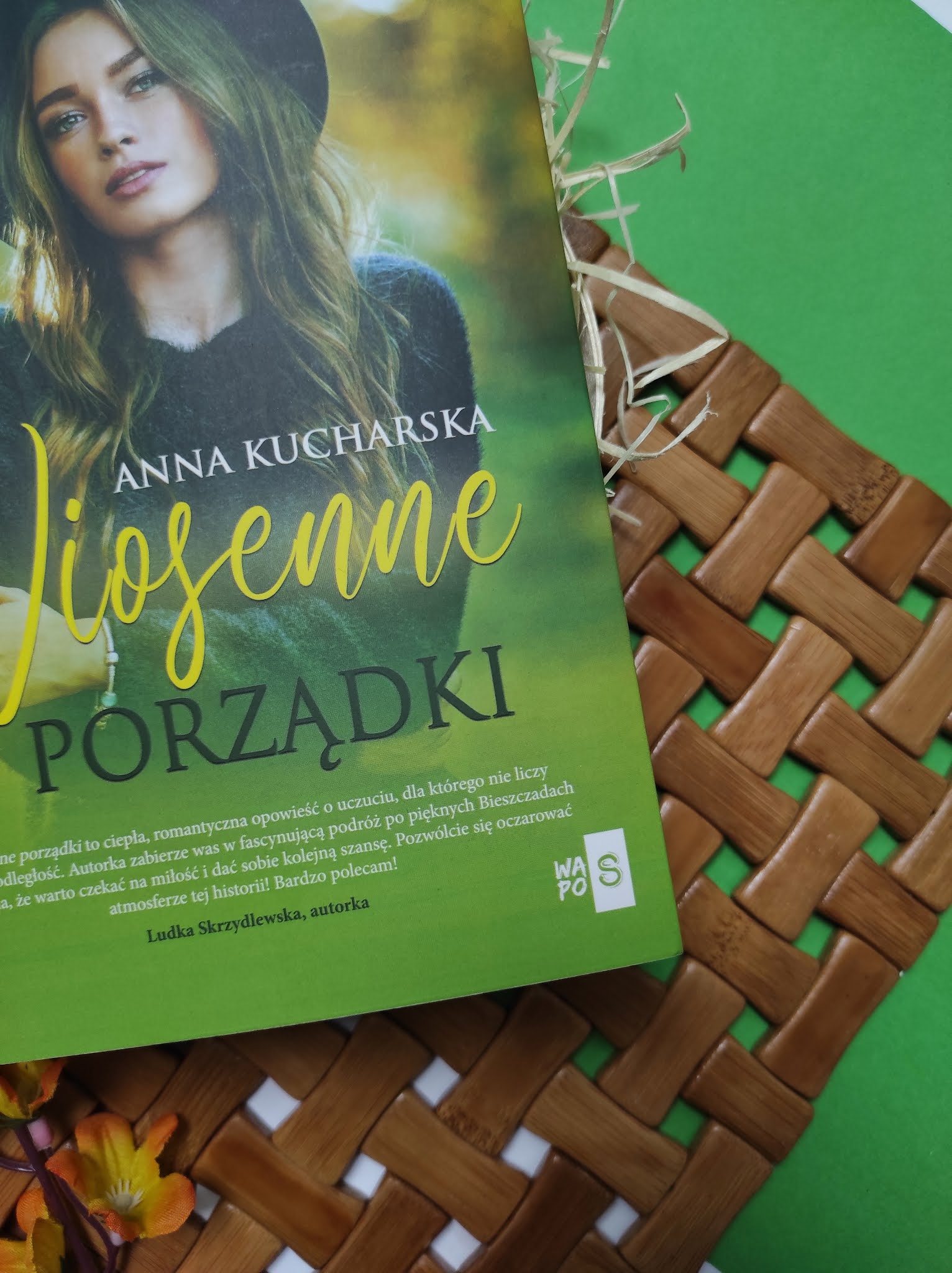 """""""Wiosenne porządki"""" Anna Kucharska - recenzja - PATRONAT MEDIALNY"""