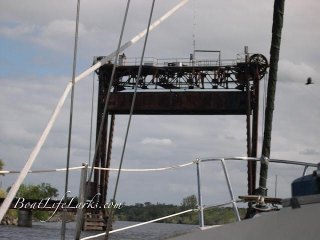 Port Myakka railroad bridge. Scary!