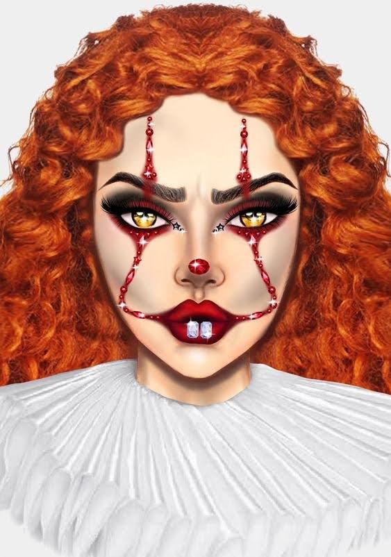 It Clown Halloween Makeup ideas