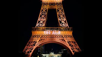 EiffelTower's 130th anniversary