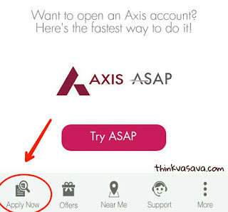 Axis me account open kare