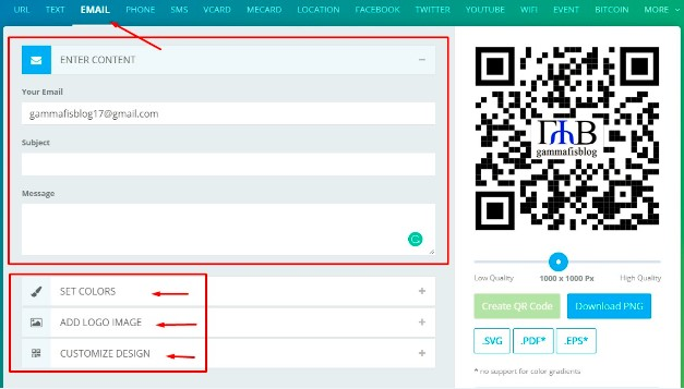 Cara Membuat QR Code Sendiri Berisi Gambar atau Logo