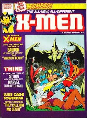 Rampage #33, X-Men vs Sauron