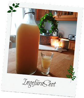 recept ingefärashot, shot med ingefära, ingefärsshot, recept  ingefära, ingefära mot förkylning, svensk blogg, blogg västragötaland, recipe gingershot, gingershot for cold,