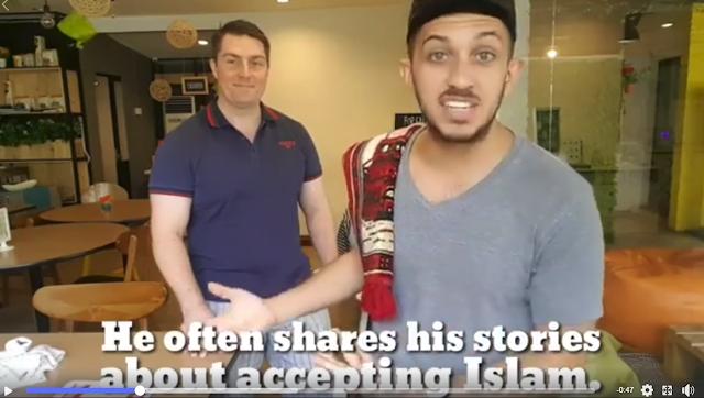 Bahasa Inggrisnya Masuk Islam