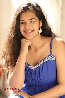 Actress Prasanna Stills in Blue Short Dress at Inkenti Nuvve Cheppu Movie Platinum Disc Function  0084.JPG