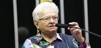 Luiza Erundina, paraibana e ex prefeita de São Paulo, anuncia sua aposentadoria na política