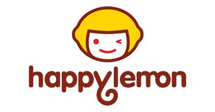 Happy lemon milk tea logo