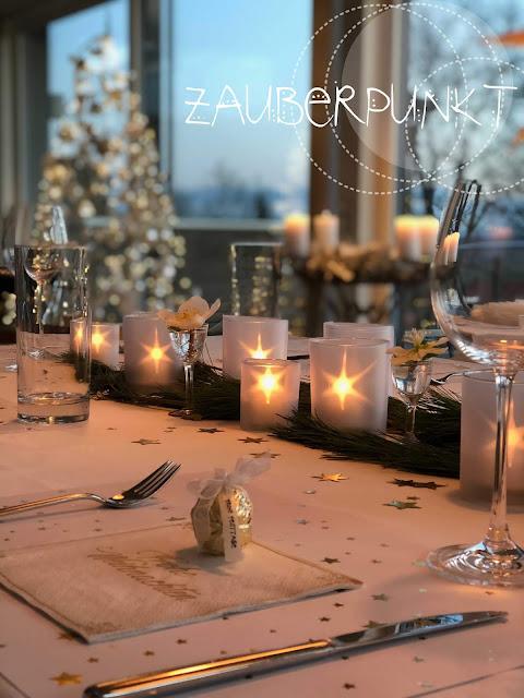Sternenkerzenglas mit Effektfolie, DIY, Tutorial, Sternenlicht, Kerzensternenlicht, Effektfolieglas, Tischdekoration für Weihnachten, Weihnachtstisch, Sternendekoration,