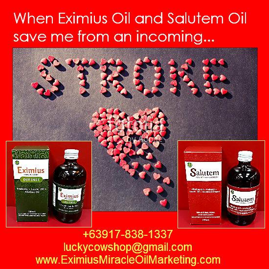 salute oil prevented stroke