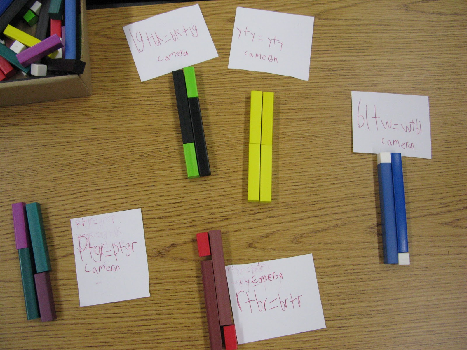 Ms Brown S Grade 2 Blog Cuisenaire Rods