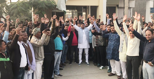 ex-bjp-councillor-kuldeep-tewatiya-join-to-dushyant-chautala-new-party-in-haryana