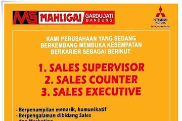 Lowongan Kerja Bandung Marketing Mitsubishi Motors