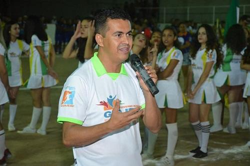 Guajeru: Prefeito confirma realização da 6ª edição do Campeonato Municipal; evento reúne 32 equipes