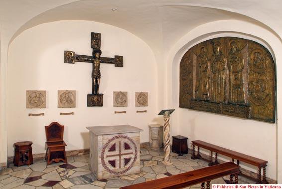 Splendore sacroprofano delle Grotte Vaticane.