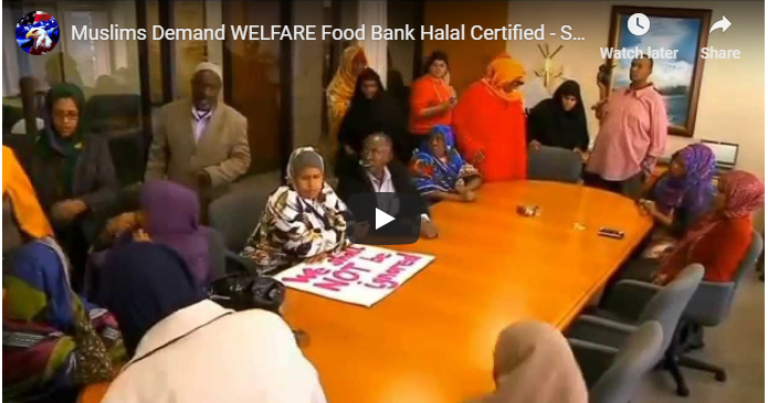 Muslims DEMAND That Welfare Food Meets Islamic Requirements in Minnesota