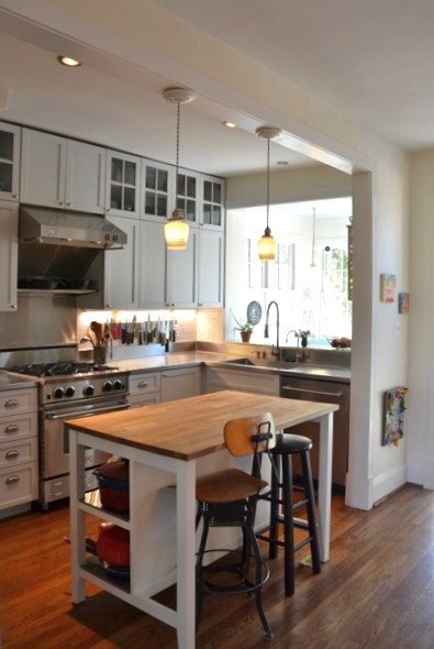 Row House Refuge Real Row House Kitchens