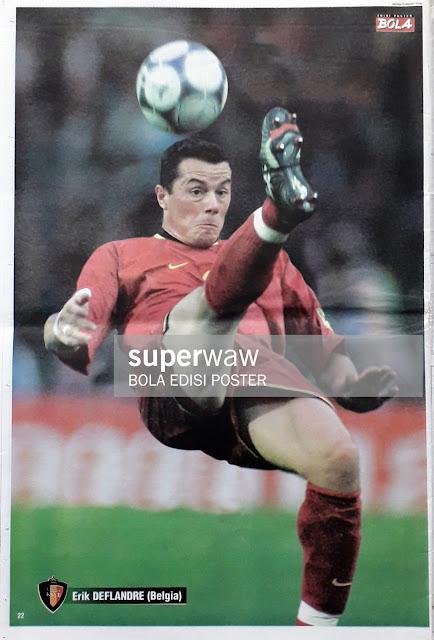 ERIK DEFLANDRE OF BELGIUM ON EURO 2000