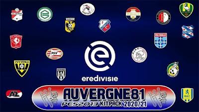 Eredivisie Kits For Season 2020-2021