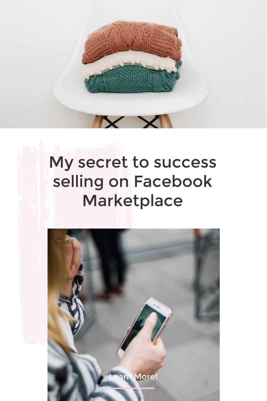 secret to success facebook marketplace